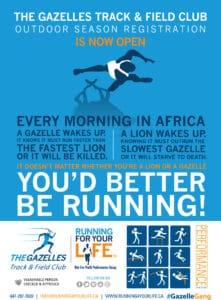 Track and Field, Toronto, Ontario, Clarington, Brampton, Scarborough, Durham, The Gazelles Track and Field Club